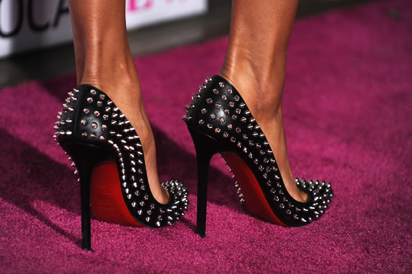 best service dd2f7 0734a Christian Louboutin Studded Heels? HOT or NOT? | fashionsrevenge