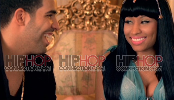 nicki minaj and drake. But Nicki Minaj has been